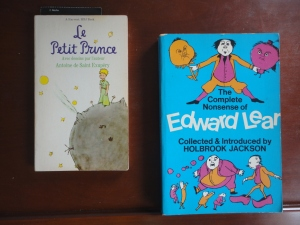 Le Petit Prince, and the Complete Nonsense of Edward Lear