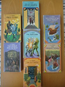 The seven books of the Chronicles of Narnia, Collier edition