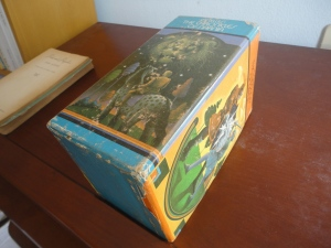 Box for the Narnia books